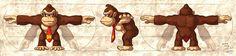 Donkey Kong model sheet by glitcher.deviantart.com on @deviantART