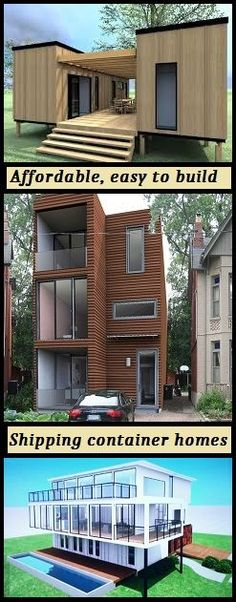 Find all the information you need to design and build your own shipping container home. #shipping #Container #home www.thediyhubby.c...
