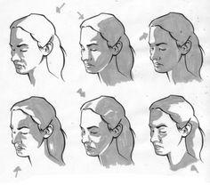 Zeichnen lernen - Licht und Schatten im Portrait-dekoking-com