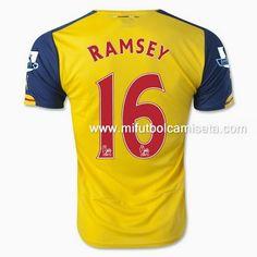 Camiseta de Ramsey Arsenal 16 2nd 2015 baratas al por mayor