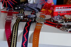 nato straps is my style today