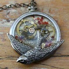 Nice bird necklace!