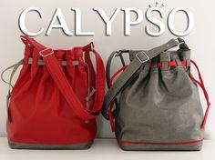 Calypso est un patron de sac seau moderne, un véritable caméléon qui s'adaptera aux styles et aux saisons en fonction de vos choix de tissus.
