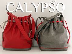 Calypso is a modern bucket bag pattern, a true chameleon that adapts to the seasons and styles according to your choice of fabrics. {Calypso} Bucket bag pat