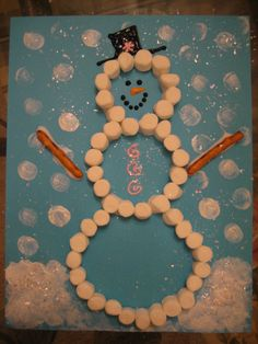 Winter Craft – Marshmallow Snowman « Happy Home Fairy
