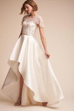 5e562b6543 Elianne Top. Gorgeous Wedding DressWedding Dress TopperMini Wedding  DressesBhldn ...