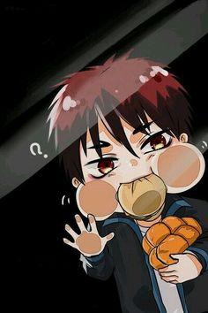 kuroko no basket, anime, and kagami taiga image Anime Chibi, Manga Anime, Got Anime, Kawaii Chibi, Anime Guys, Anime Art, Kuroko No Basket, Anime Behind Glass, Anime Lock Screen