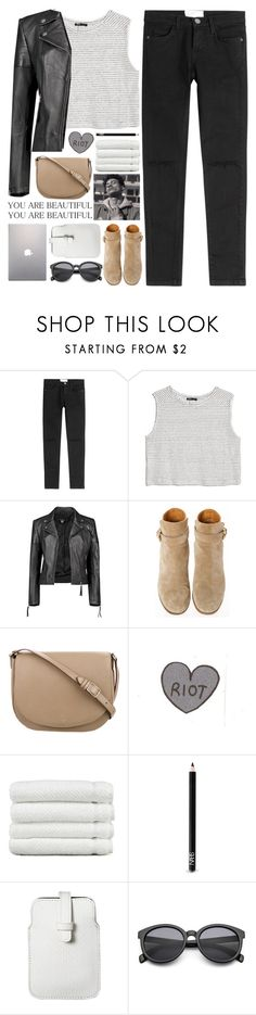 """""""for macie"""" by untake-n ❤ liked on Polyvore featuring Current/Elliott, MANGO, Boohoo, Church's, CÉLINE, Linum Home Textiles, NARS Cosmetics, Mossimo and Samsung"""