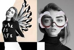 Inspired fashion collage from Quentin Jones