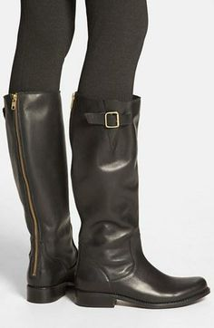 Love the zipper detail on these Steve Madden boots!