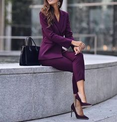 More than 30 fashion and unique fashion design – Page 27 – Fashion Blog Outfits Casual, Mode Outfits, Classy Outfits, Casual Wear, Fashionable Outfits, Blazer Outfits, Beautiful Outfits, Casual Dresses, Suit Fashion