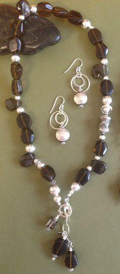 Sterling Silver Bali and Circle Link Dangle by PoshDesignsJewelry, $69.00
