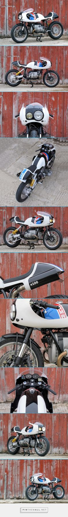 White Hot Unions Track Inspired BMW R100 R