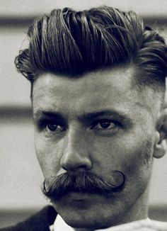 Hairdressing and moustache pampering