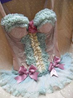 corset - maybe for a Marie Antoinette costume