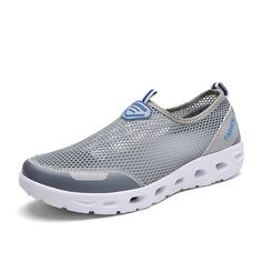 Tanly Women's Mesh Slip On Walking Water Shoes * Visit the image link more details.