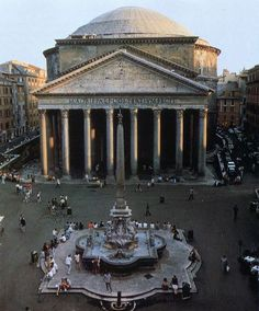 Pantheon, Rome, Italy, ca AD 120