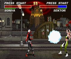 Mortal Kombat 3 SNES