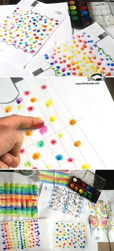 children activities, more than 2000 coloring pages Spring Crafts For Kids, Crafts For Girls, Fall Crafts, Art Activities For Kids, Autumn Activities, Art For Kids, Kindergarten Art, Preschool Crafts, Paper Umbrellas