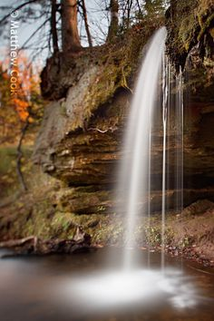 Scott Falls is a waterfall located along Highway M-28 in Alger County, Michigan near the town of Au Train Upper Peninsula.