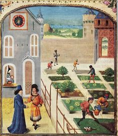Livre des prouffitz champestres et ruraulx (BNF Arsenal 5064, fol. 151v), third quarter of the 15C-