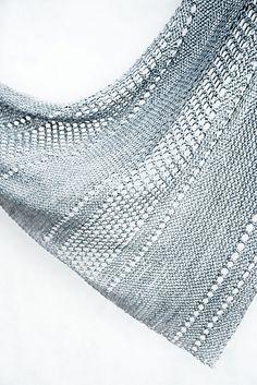 Ravelry: Ardent shawl with Kettle Yarn Co. ISLINGTON - knitting pattern by Janina Kallio. Crochet Shirt, Knit Or Crochet, Lace Knitting, Knitting Stitches, Knitting Patterns, Crochet Vests, Crochet Cape, Crochet Edgings, Crochet Motif