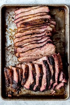 Get ready to create the most juicy, mouthwatering Texas Smoked Brisket in your own backyard using a wood or pellet smoker. These are all my best tips & tricks for making the best smoked beef brisket that is perfect for your next outdoor BBQ. Grilled Brisket, Beef Brisket Recipes, Smoked Beef Brisket, Traeger Recipes, Smoked Meat Recipes, Grilling Recipes, Texas Brisket, Traeger Brisket, Brisket In Smoker