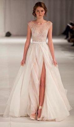 awesome The Wedding Scoop Spotlight: Short Sleeve Wedding Dresses by http://www.polyvorebydana.us/high-fashion/the-wedding-scoop-spotlight-short-sleeve-wedding-dresses/