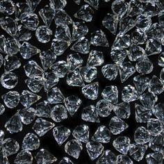 Hanging Diamond Crystal Teardrops - Medium (BULK 200 Pieces) BEST SELLER! [5126313 Med Crystal Teardrops] : Wholesale Wedding Supplies, Discount Wedding Favors, Party Favors, and Bulk Event Supplies