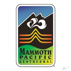 Mammoth Pacific Logo by Kiss a Cow Studios
