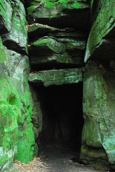 Ice Box cave at Virginia Kendall's ledges.  This is my favorite place to hike/explore.