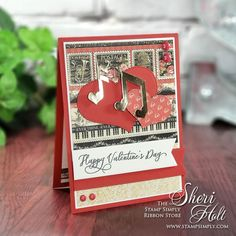 Stamp Simply Valentine Love Notes created by D-Lites Graphic 45 Spellbinders Stamp Simply Stamp Simply Clear Stamps Stamp Simply Dies Valentine's Day Valentine Day Love, Valentine Day Cards, Valentines, Ribbon Store, Simply Stamps, Day Wishes, Note Paper, Christmas Paper, Graphic 45