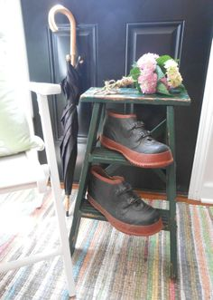 Dogger's wellies for mucking about Buckshaw's gardens, Styled by MBZ Interiors, Inc.