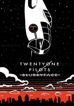TWENTY ONE PILOTS Poster by Oli  on CreativeAllies.com