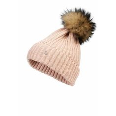 KNIT HAT LEONIE (£215) ❤ liked on Polyvore featuring accessories 53739c262