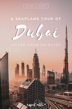 Dubai is a city designed to be seen from the sky. Find out what it's like to enjoy a scenic seaplane tour over this unique city. Dubai Travel, Asia Travel, Amazing Destinations, Travel Destinations, Places To Travel, Places To Visit, The Beautiful Country, Travel Guides, Travel Tips