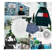 """""""Say my name"""" by baekyeoltaekook ❤ liked on Polyvore featuring MANGO, GET LOST, Chanel, Lancôme, H&M, Fujifilm, ferm LIVING, DAY Birger et Mikkelsen and Dr. Martens"""