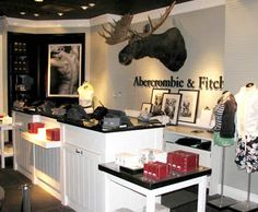 Store interior design on pinterest store interiors for Abercrombie interior design and decoration
