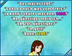 Typisch Verkäufer #trotzdemgelacht #Humor #Witze #lustig