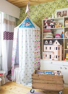 Leikkihuone vanhassa talossa | Unelmien Talo&Koti