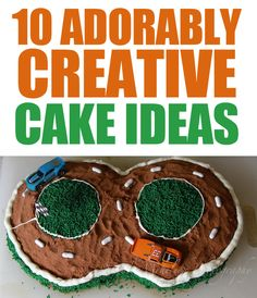 10 Adorably Creative Cake Ideas