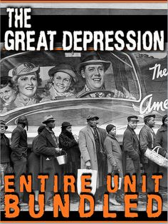 The Great Depression: Short 4-6 Day Unit includes Great Depression Powerpoints, primary source readings, crossword puzzle review and an assessment that is completely editable, all linked together by daily lesson plans. You just copy/paste into your lesson plans. Each lesson begins with a warm-up, and continues with Powerpoint notes, primary source document activity or political cartoon and an Exit Ticket. I have used this for Honors and regular classes.