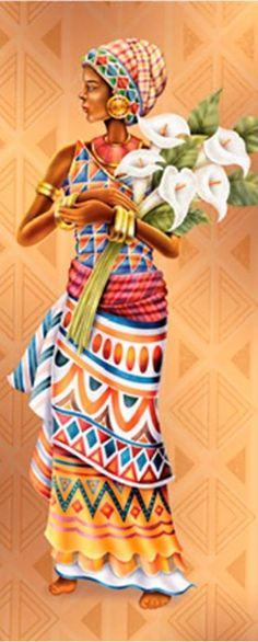 Save to motif African Beauty, African Women, African Fashion, Black Women Art, Black Art, Africa Painting, Afrique Art, African Quilts, African Colors
