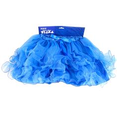 Hens Party Tutu - Blue Tutus are the perfect Hens night accessory! Gorgeous layered and lined Blue Tutu for the Bride To Be, or get one for all the girls to really make an impression! Team with one...