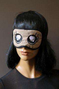 Masque de nuit masque de sommeil masque de par LeDedArpine sur Etsy