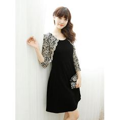 Buy 'Dodostyle – Lace-Sleeve A-Line Dress' with Free International Shipping at YesStyle.com. Browse and shop for thousands of Asian fashion items from South Korea and more!