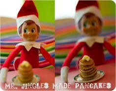 More cute Elf on the Shelf ideas!