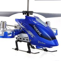 Taipove 4 CH RC RF Remote Control Helicopter Aircraft Toy Blue ** You can get additional details at the image link.