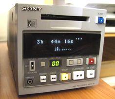 Sony MiniDisc MD Recorder MDS-81 Superior Jingle-machine...
