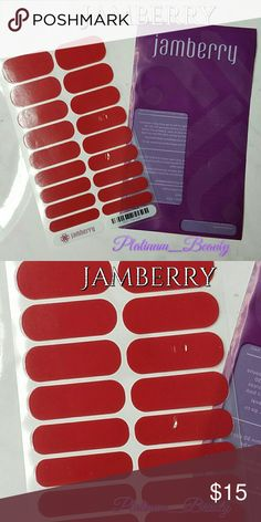 """Jamberry Nail Wraps 💅 Jamberry Nail Wraps 1 Full Sheet  ⛔️No Trades! No Holds! No Lowballing!⛔️ ⛔️No Offers on """"Final Priced"""" Items⛔️  ❣️Reasonable Offers Welcomed❣️ ❣I Only Sell ️Quality Items❣️ ❣️Used items will be gently used/like new❣️              ️⛔️No used Makeup⛔️ Jamberry Other"""